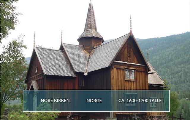 Billede af Nore-Kirken